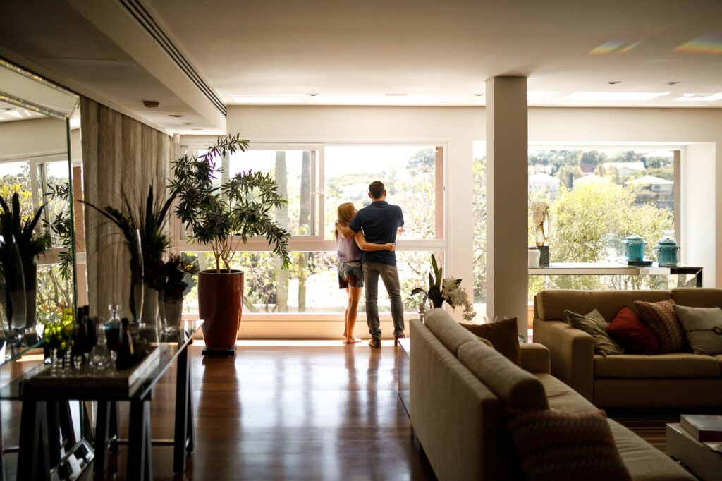Couple in home